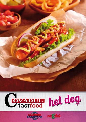 catálogo hot dog COVADUL