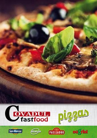 catálogo pizzas COVADUL