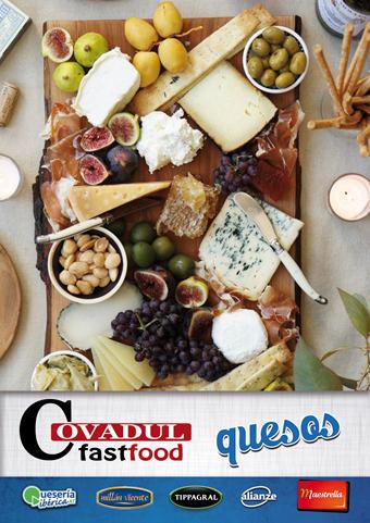 catálogo quesos COVADUL